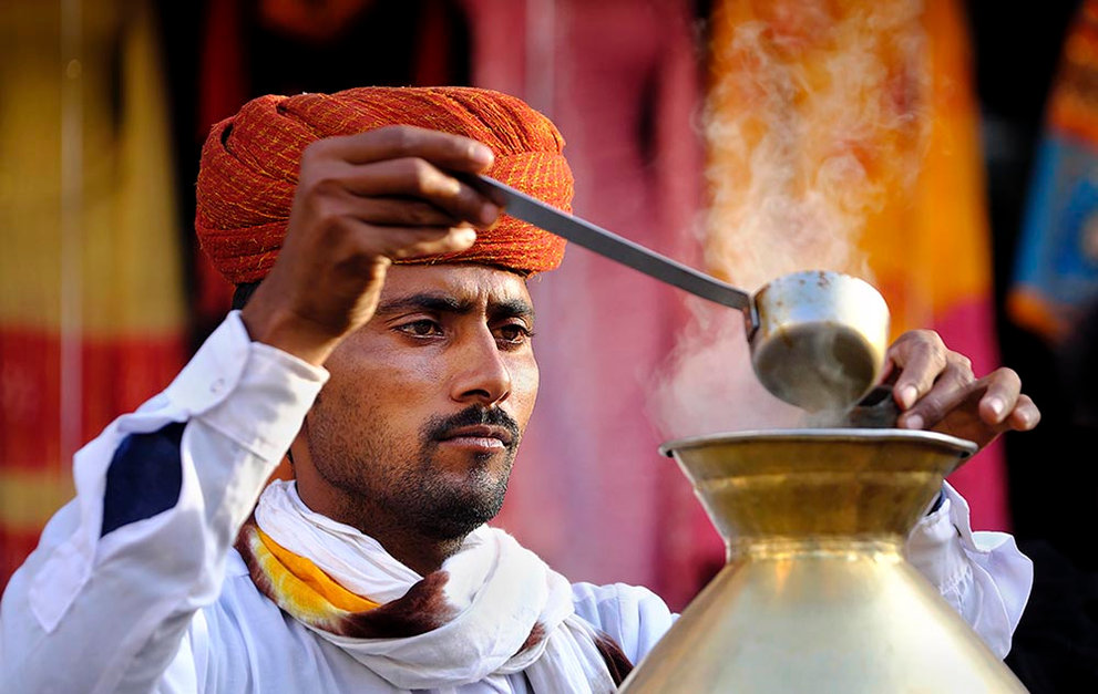 Chai Tea Maker, India