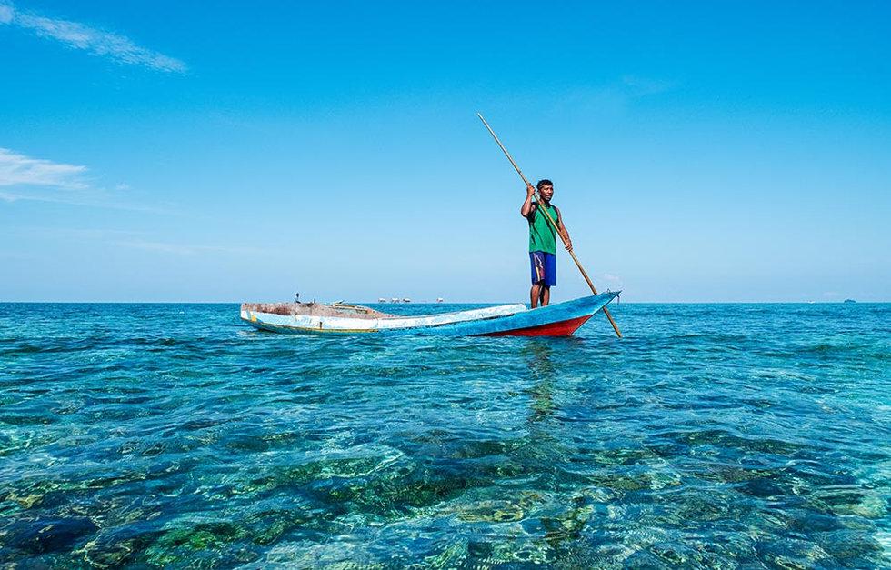 Bajau Fisherman, Indonesia