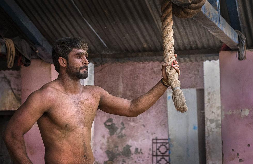 Akara wrestler, India