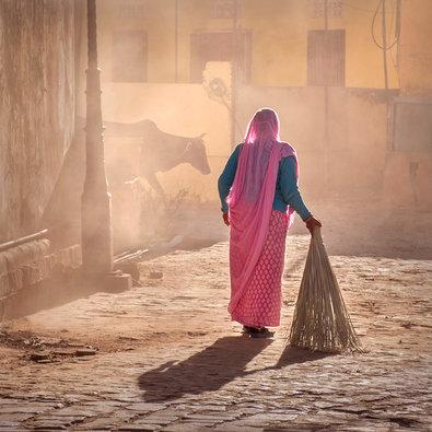 Streets of Jaipur, India