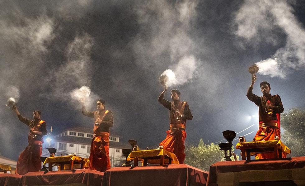 Morning Aarti, Varanasi