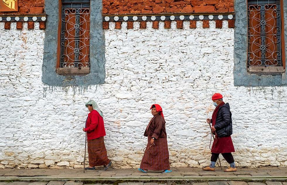 Pilgrims, Bhutan