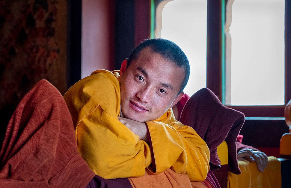 Buddhist Monk, Bhutan
