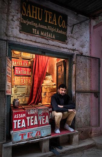 Tea Shop, Varanasi, India