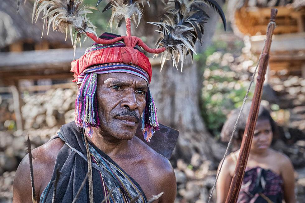 Abui Tribe, Alor, Indonesia