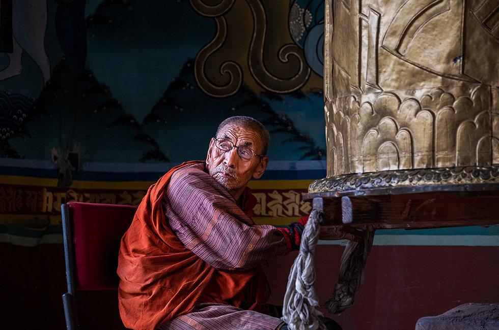 Worshipper, Bhutan