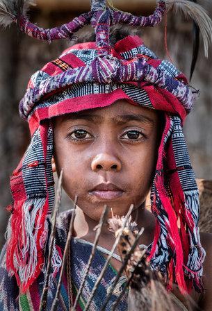 Abui Tribe, Alor Island, Indonesia