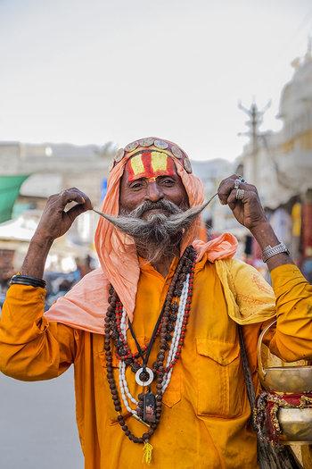 Sadhu, Pushkar, India