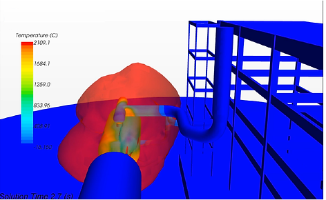 Jet Fire CFD