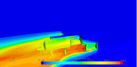 Jetfire CFD Temperatures