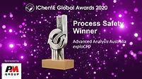IchemE 2020 Global Process Safety Award
