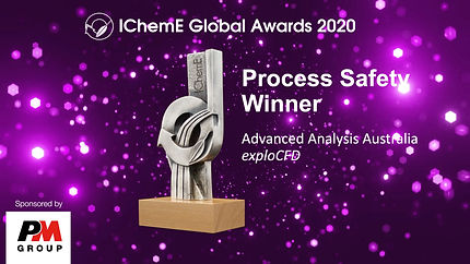 IchemE 2020 Global Process Safety Award