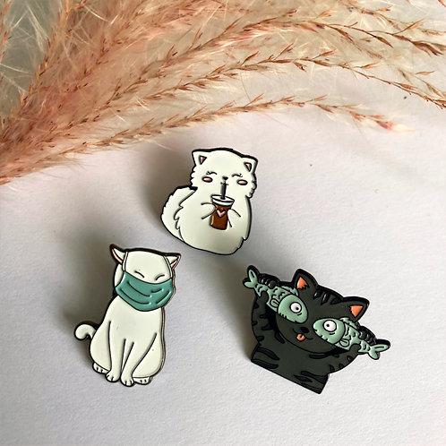 Katten pin