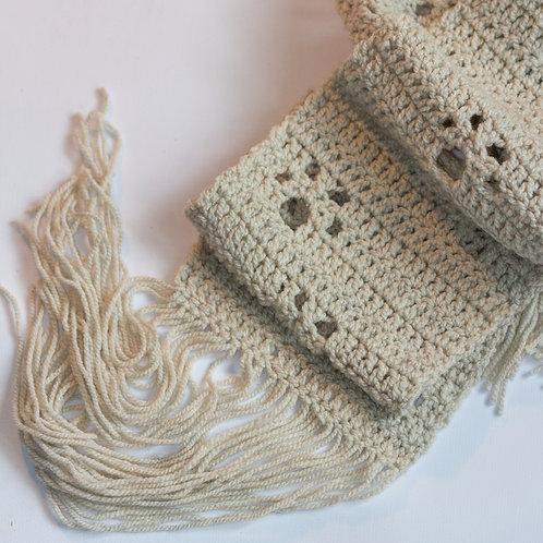 Sjaal met kattenpootjes