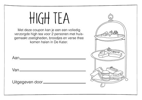 High Tea Coupon