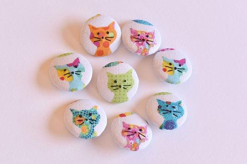 Kleine katten knoopjes