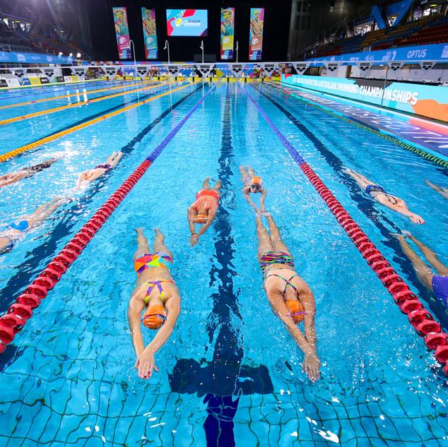 Swimmer Clinic Brisbane - Floating