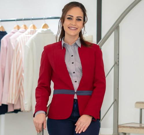 Confección de uniformes para damas