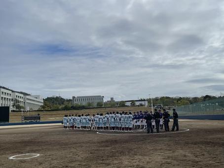 2021年春季リーグ戦対広島国際学院大