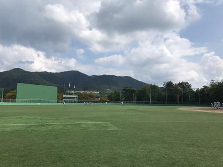 2019年秋季リーグ戦 対 広島経済大学 1日目