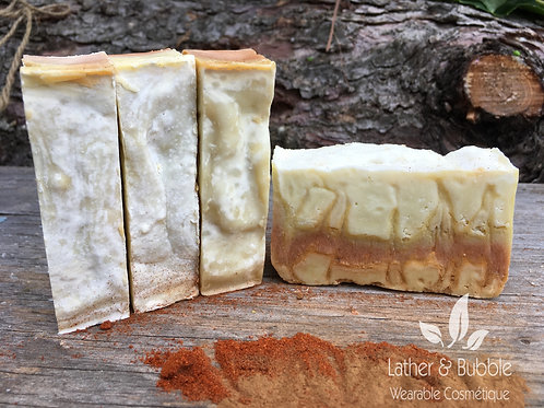 Castille Soap Cinnamon Clove Essential Oil Natural Burlington Handmade Handcraft