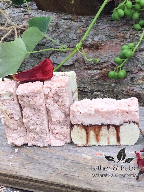 Handmade Handcraft Soap Burlington Rose Salt Spa Bar