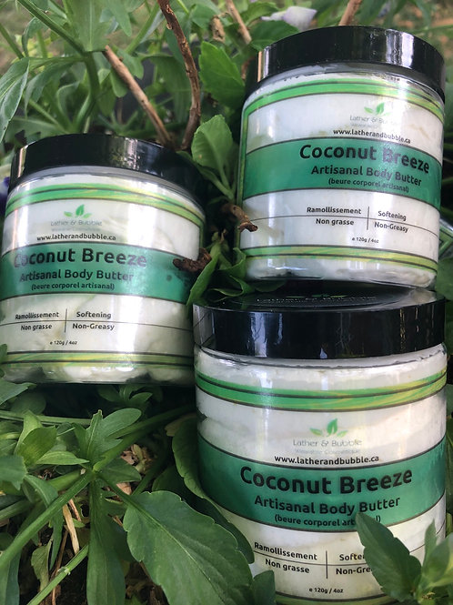 Decadent RAW Body Butters