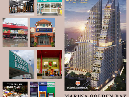MARINA GOLDEN BAY PRIME REAL ESTATE IN PATTAYAA WEALTH OF CONVENIENCES AND GROWTH