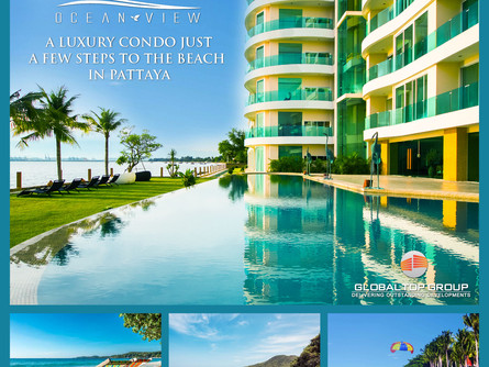 The Most Spectacular and Tranquil Location Ocean View Condo in Pattaya