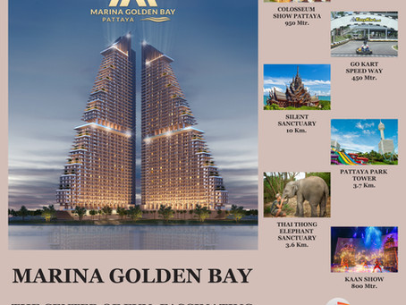 MARINA GOLDEN BAY CONDO, BEST REAL ESTATE INVESTMENT OPPORTUNITIES IN PATTAYA