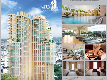 LUXURY HIGH RISE CONDOMINIUM, ONE OF THE BEST TOP 10 REAL ESTATE INVESTMENT IN PATTAYA
