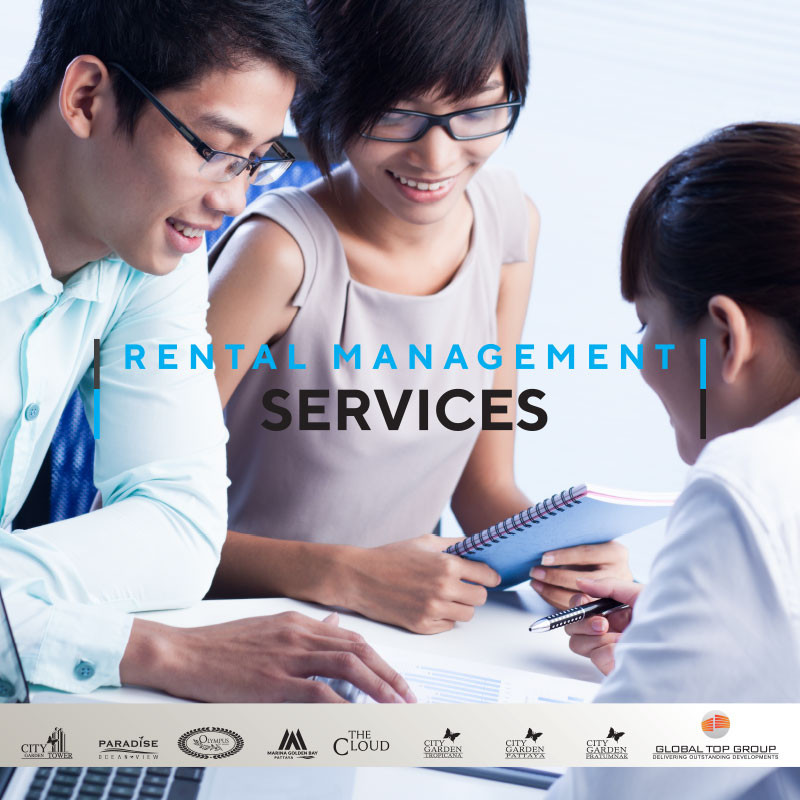 Rental Management Services, Global Top Group, Pattaya, Condo, Buy, Sale, Rent
