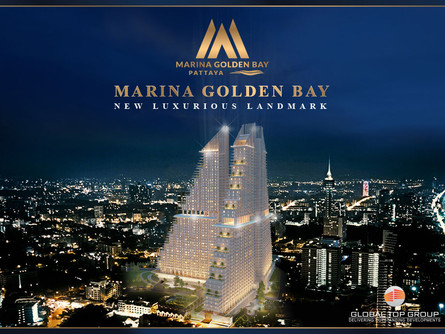 "Marina Golden Bay ""World Class Luxury Lifestyle"" Better Life. Best Benefit. Special Price. #Pattaya"