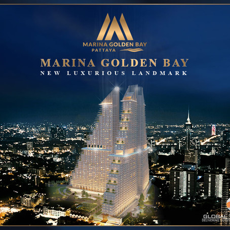 "Marina Golden Bay ""World Class Luxury Lifestyle"" Better Life. Best Benefit. Special Price. #Pattaya"