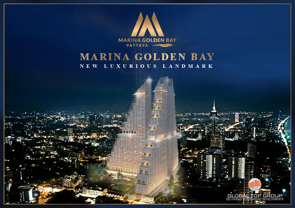 "Marina Golden Bay ""World Class Luxury Lifestyle"" Better Life. Best Benefit. Special Price. #Pattaya, Global Top Group, Pattaya, Condo, Buy, Sale, Rent"