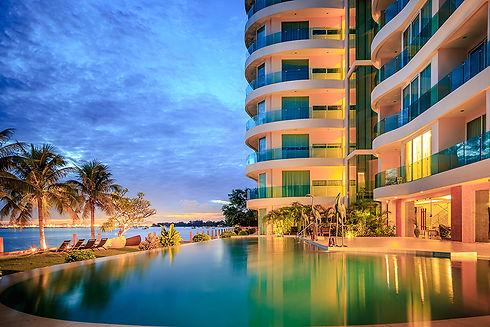 Beachfront condo for rent