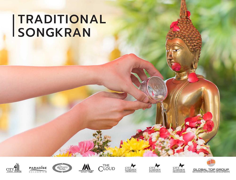 Songkran in 2020, Global Top Group, Pattaya, Condo, Buy, Sale, Rent