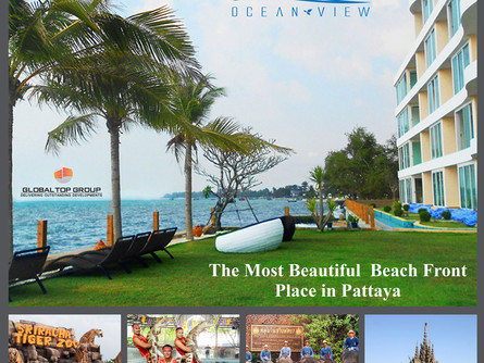 Spectacular Views in Every Direction, One of the Best Condos in Pattaya Thailand