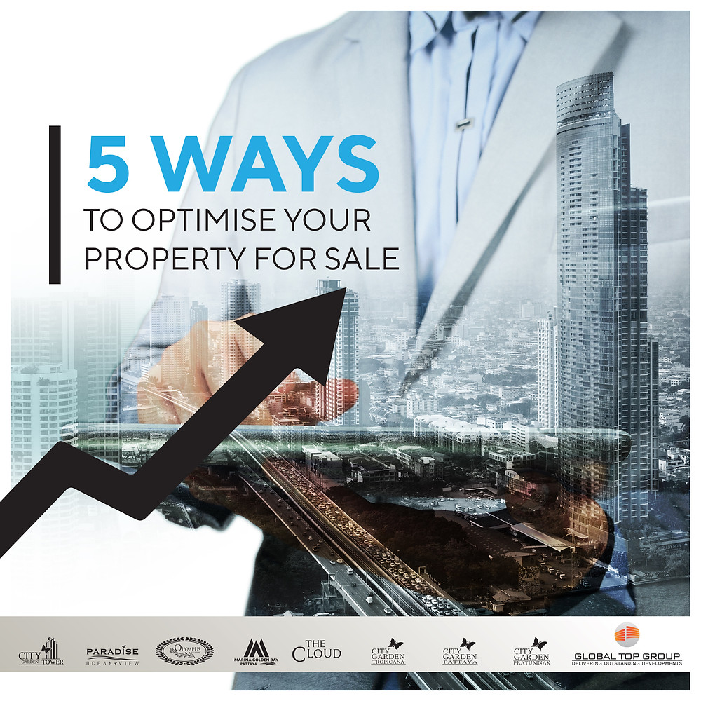 5 Ways To Optimize Your Condo For Sale, Global Top Group, Pattaya, Condo, Buy, Sale, Rent