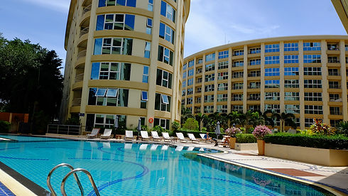 Pattaya Property with Beautiful Pool View
