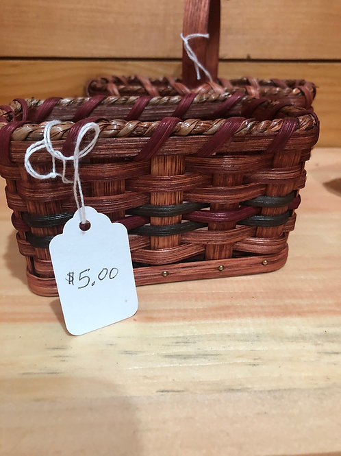 Miniature Amish Basket