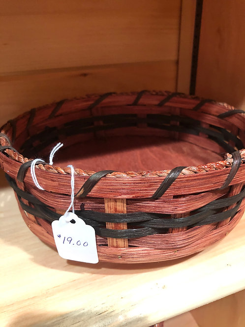 Amish Bowl Lazy Susan Basket