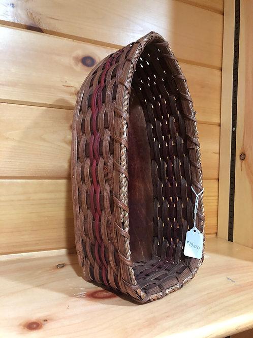 Amish Boat Shaped Basket