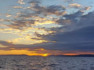 Sul mare d'inverno la pace è un'idea semplice.