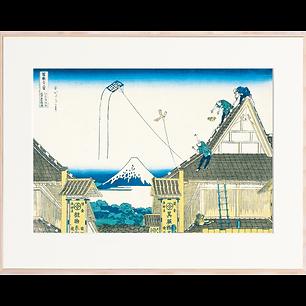富嶽三十六景 江都駿河町三井見世略図