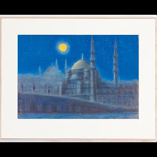 朧月夜 ブルーモスク イスタンブール