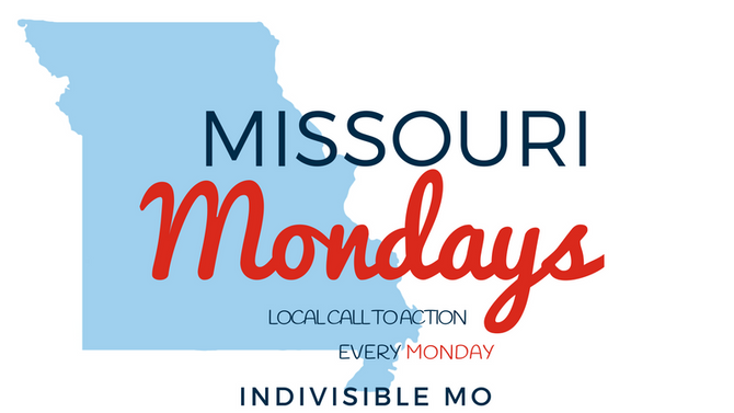 04/16/18 - Missouri Mondays - Tell your State legislators to take a stand!  Greitens must resign or