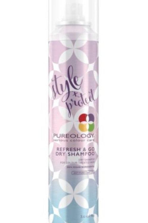Pureology Style + Protect Refresh & Go Dry Shampoo 7.1oz