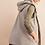 Thumbnail: Sherpa Hooded Vest Green Plaid