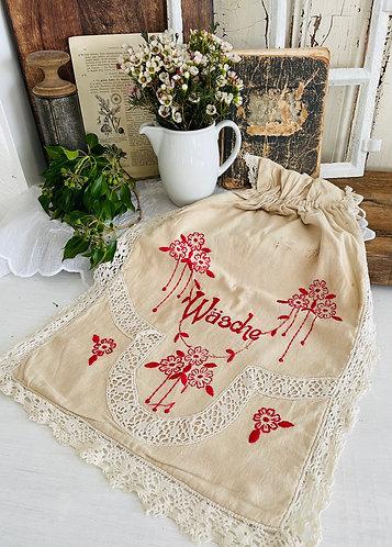 Wäschesack aus Leinen